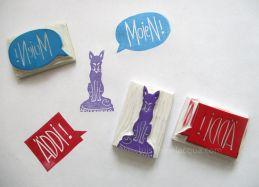 Luisa Bevilacqua - Stamp it! Atelier de création de tampons