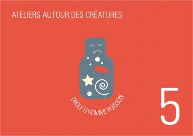 Luisa Bevilacqua - Drôle d'homme-poisson / Autour des créatures 5